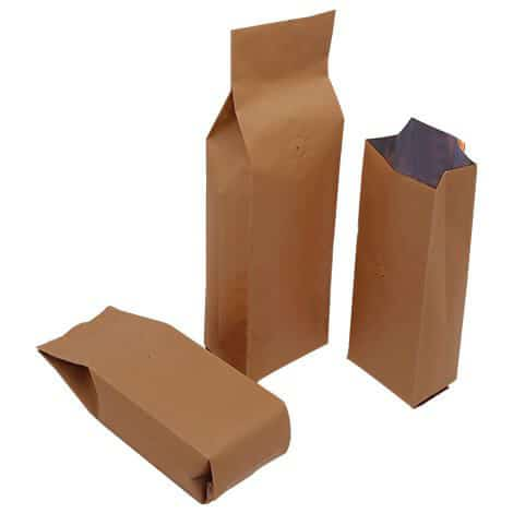 brown paper side gusset bags with valve 1