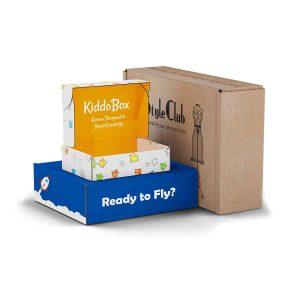 custom design corrugated mailer boxes